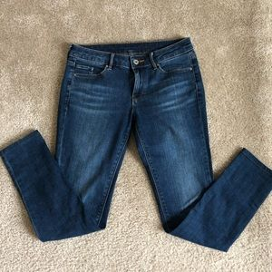 UNIQLO Ankle Jeans Blue